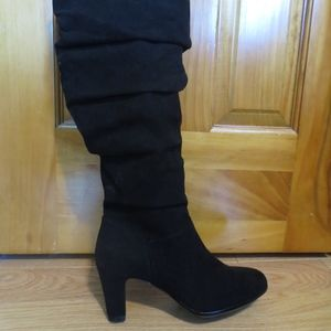 Aerosoles Black Knee High Heeled boots